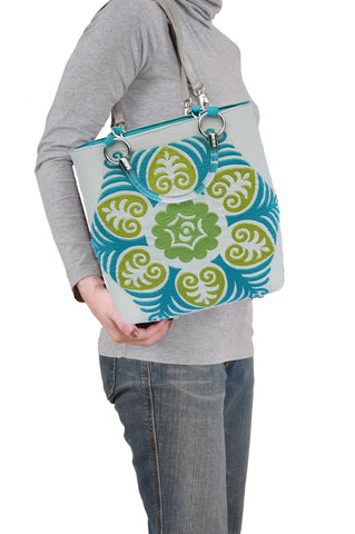 Image of Suzani Teal Small Tote