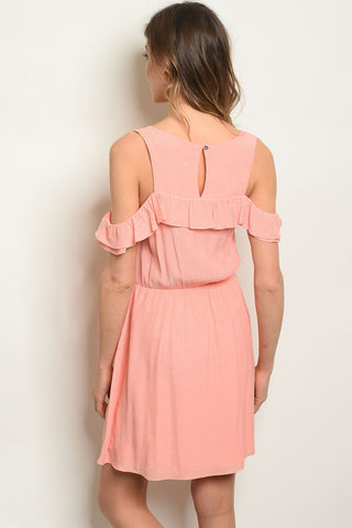 Image of Peach Dress