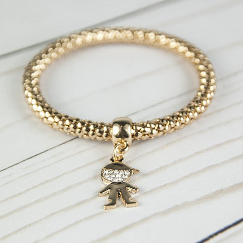 Image of Qidz Bracelet- Boy Gold