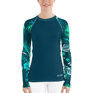 Women's Veronica Sleeve Sea Skinz Performance Rash Guard UPF 40+