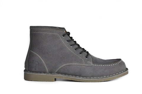 Image of The Cooper | Grey Suede