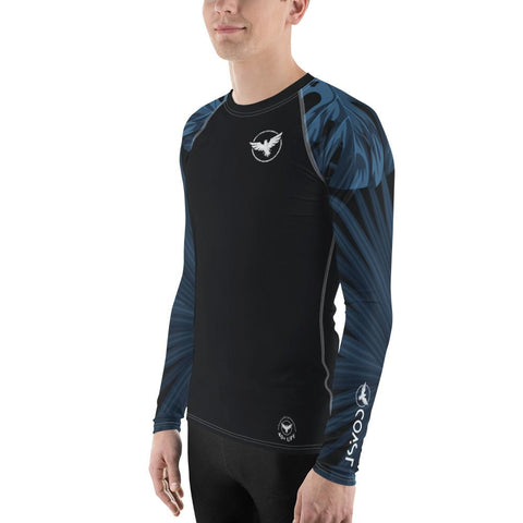 Men's Find Your Coast Palm Sleeve Performance Rash Guard UPF 40+