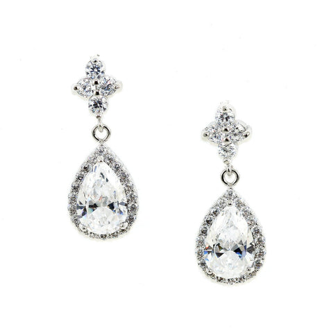 Teardrop Crystal Earrings