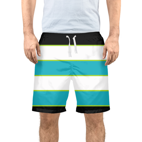 Men's Striped Beach Shorts