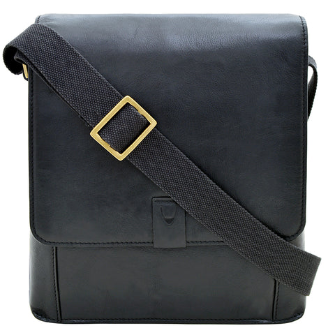 Hidesign Aiden Medium Leather Messenger Cross Body Bag