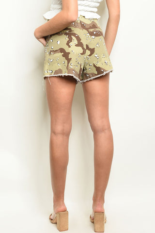 Image of Camouflage Shorts