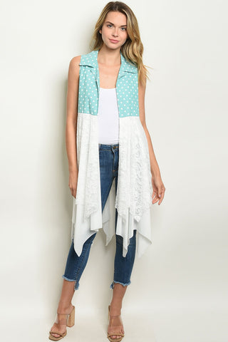 Womens With Dots Cardigan