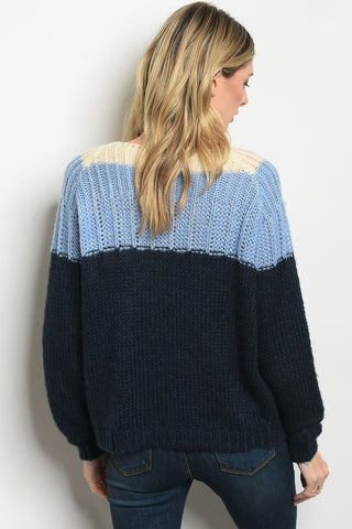 Blue Navy Sweater