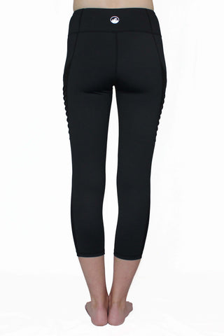 Black Moto - Pocket Tights