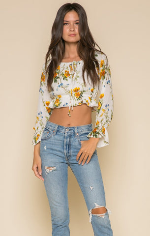 Image of Buttercup Fields Crop Top