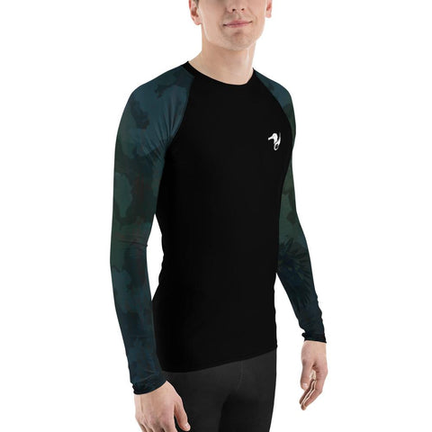 Image of Men's Find Your Coast O.U.R. Outdoors Sleeve Performance Rash Guard UPF 40