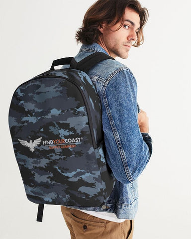 Find Your Coast Waterproof 'Coast Camo' Large Backpack