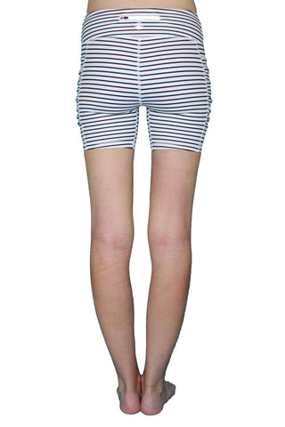 Image of Black & White Stripe 5 inch - Pocket Short