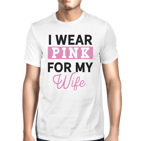Image of I Wear Pink For My Wife Mens Shirt
