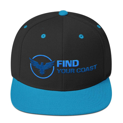 Image of Premium Find Your Coast Snapback Adjustable Hats