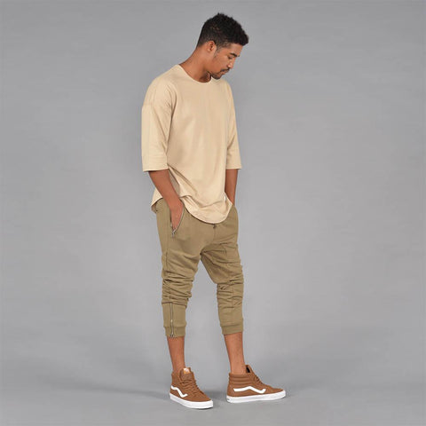 Image of Lux Knit Jogger Pants w/ Zipper Pocket (Hemp)