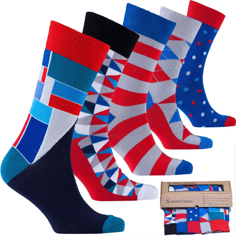 Cool Mix Set Socks