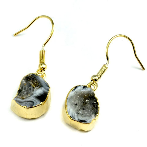 Image of Nikki Tiny Agate Earrings