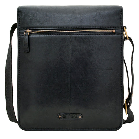 Image of Hidesign Aiden Medium Leather Messenger Cross Body Bag