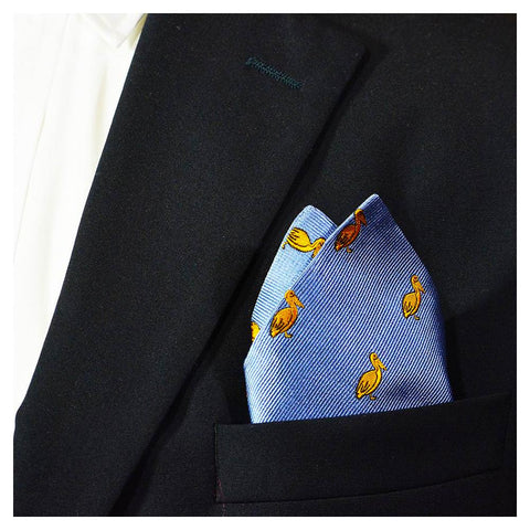 Image of Pelican Pocket Square
