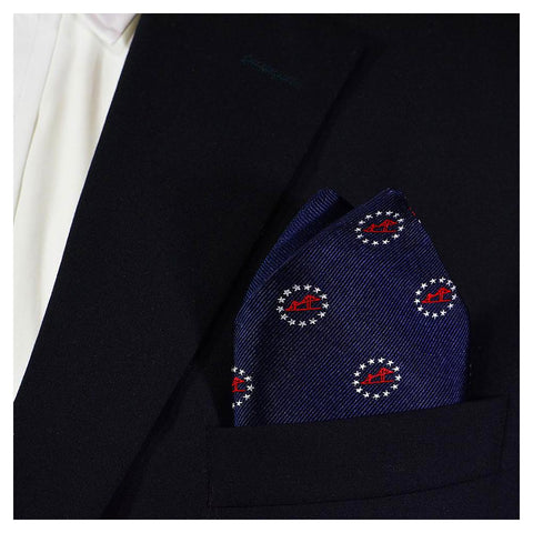 Newport Bridge 4th of July Pocket Square