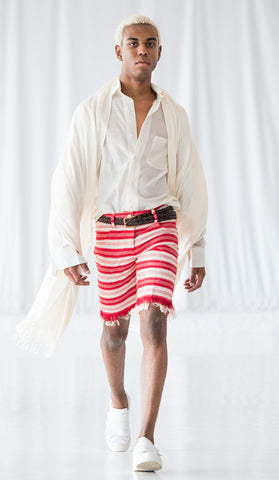 Men's Fringe Shorts