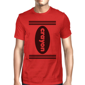 Crayon Mens Red Shirt