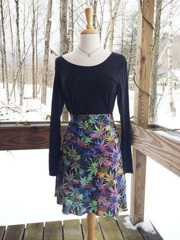 Reign Vermont Adventure Skirt in Hemp