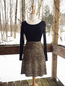 Reign Vermont Adventure Skirt in Leopard