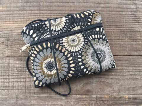 Fiddlehead Purse In Ebony