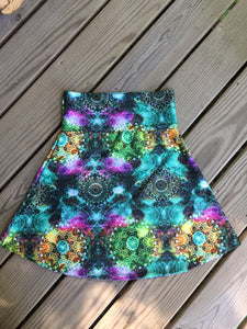 Reign Vermont Adventure Skirt in Jewel
