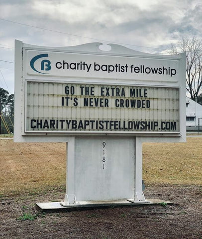 Charity Baptist Fellowship Service Sign-up