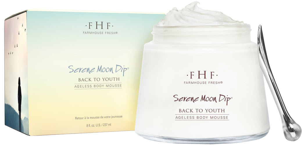 Serene Moon Dip Back To Youth Ageless Body Mousse