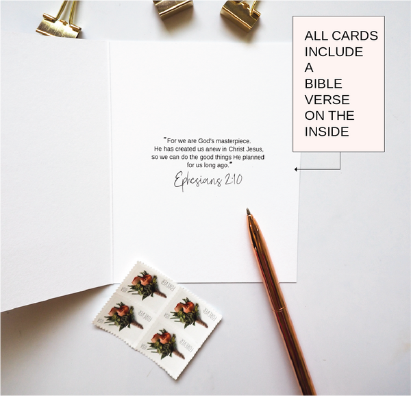 God's Masterpiece Christian Card