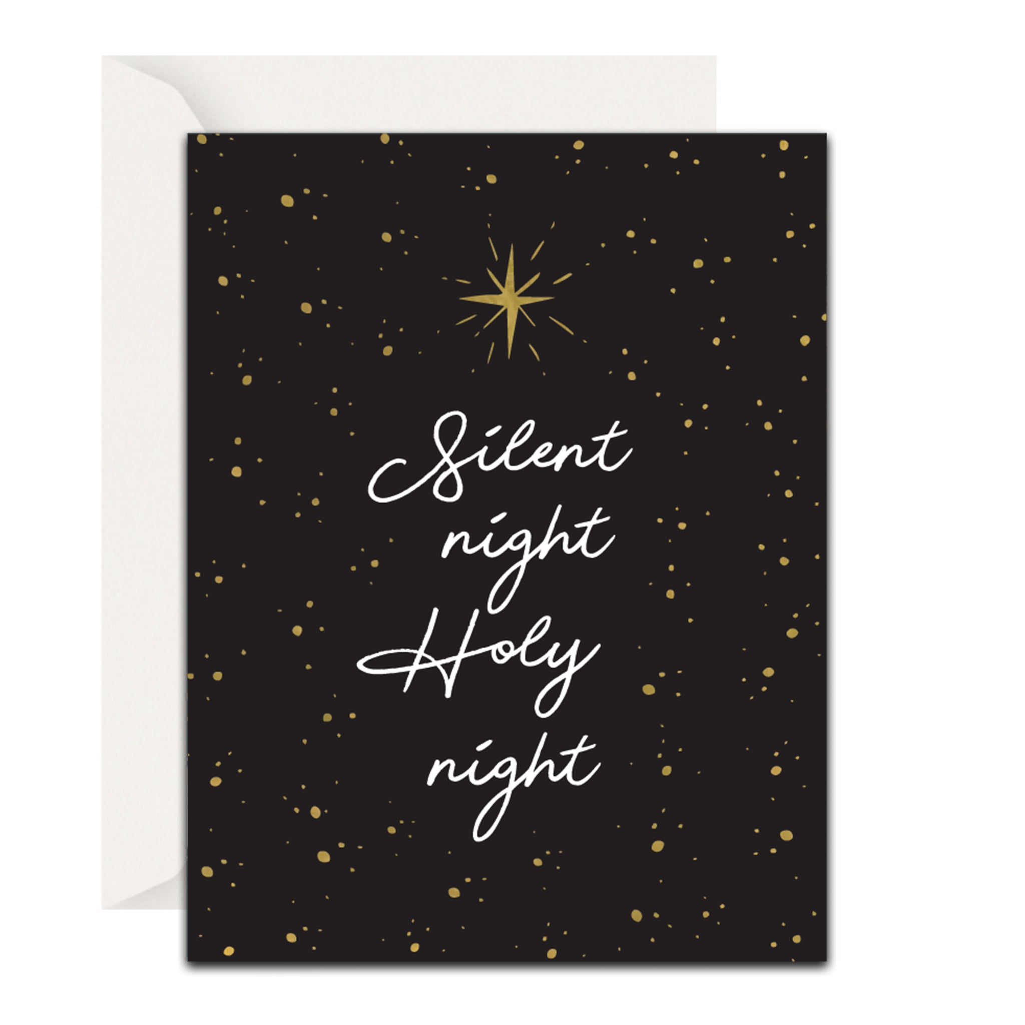Silent Night, Holy Night Christmas Card