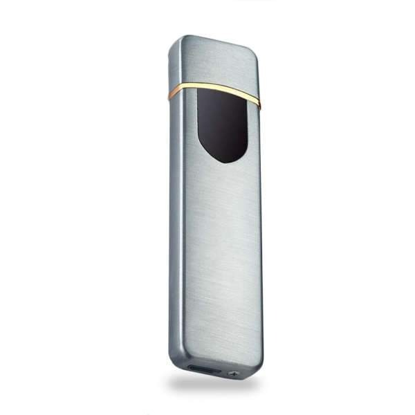 Briquet Induction USB Sobre Argent