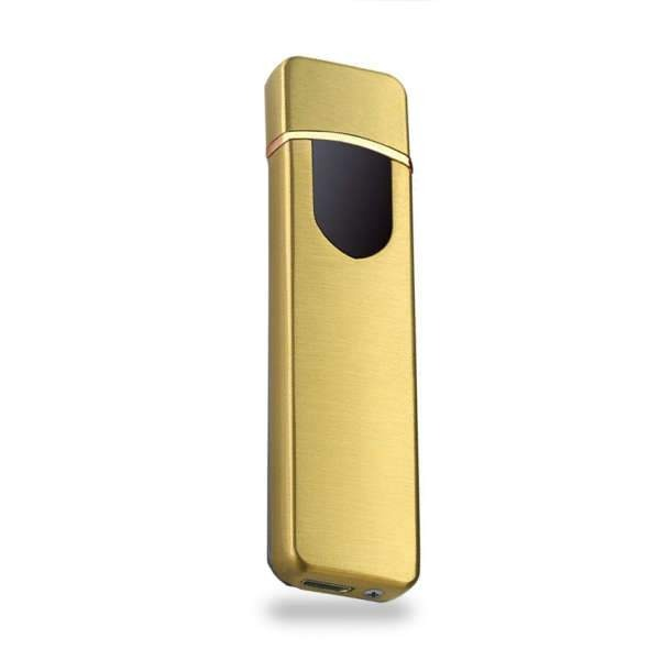 Briquet Induction USB Sobre Or