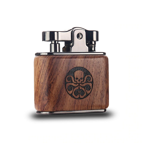 Briquet Essence Drapeau Pirate