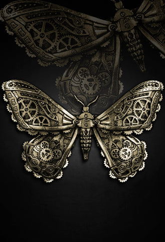 Steampunk Hairclip | Clockwork Hairclip | Clockwork Butterfly
