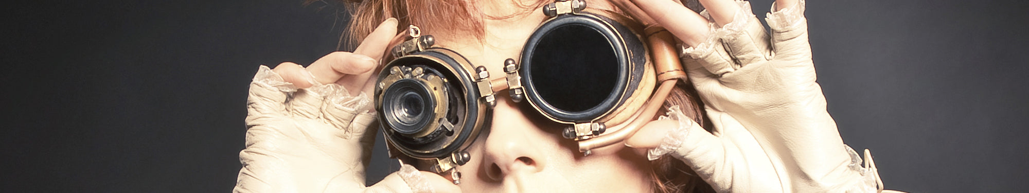 Steampunk Goggles. A Unique Collection of Steampunk Goggles from Brass Goggles to Plastic Goggles we have sourced them all.