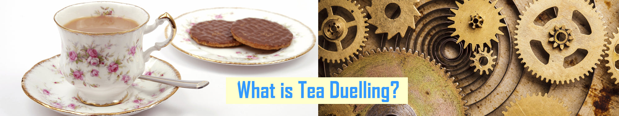 What is Tea Duelling | Steampunk Activities | Steampunk UK