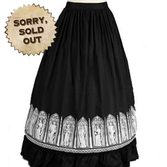 A Window To My Heart Circle Skirt