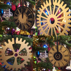 Steampunk Christmas Decorations