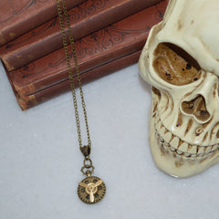 Avotoria Propeller Steampunk Necklace