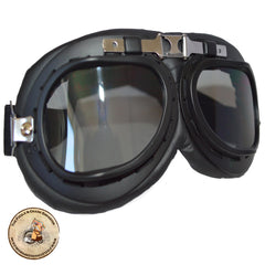 Steampunk Black Motorcycle Goggles