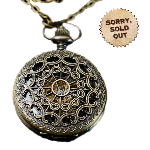Captain Jensen's Brass Steampunk Pocketwatch