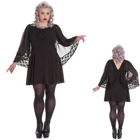 0a38b96589a Moongazer Plus Size Gothic Dress