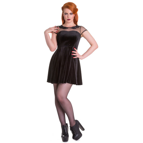 Falora Vintage Gothic Dress
