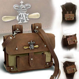 Steampunk Bag, Wing Commander's Attache Case, Steampunk Clothing UK