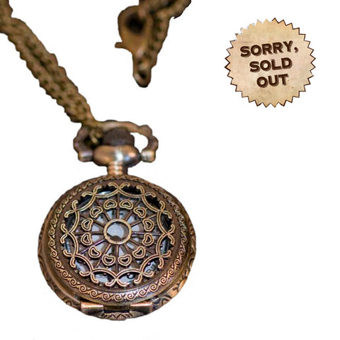 Lady Penelope's Necklace Steampunk PocketWatch